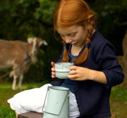 Alimente care aduc fericirea - laptele-de-capra