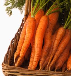 Alimente care aduc fericirea - morcovul