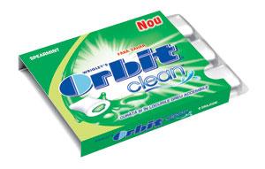 Orbit Clean cu surprize