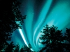 Aurora boreala albastra