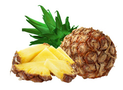 Alimente care aduc fericirea - ananasul