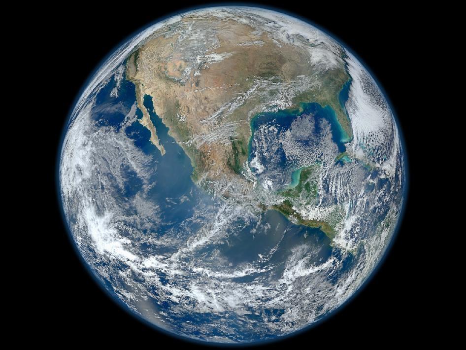 Pamantul vazut din cosmos | Blue Marble Nasa